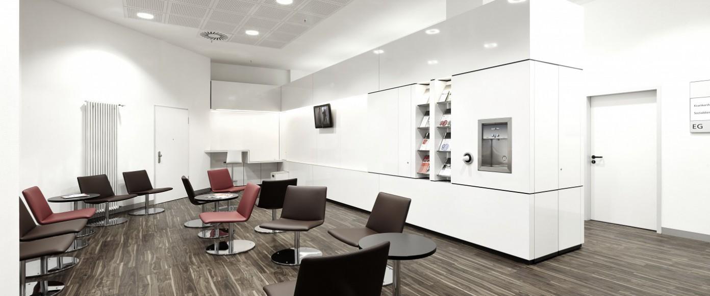 Foyer klinikum l denscheid kkw architekten - Kkw architekten ...