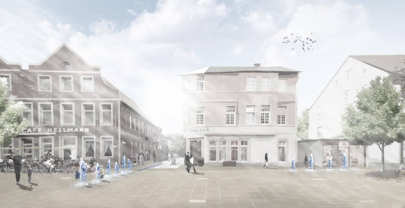 Marktplatz l dinghausen kkw architekten - Kkw architekten ...